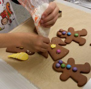 Lebkuchenmönnchen Weihnachtsbäckerei